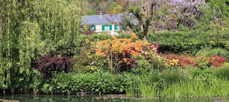 Monet's Giverny & la Roche-Guyon